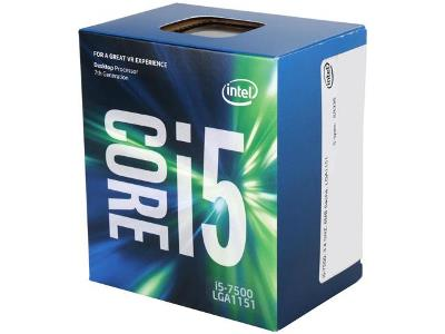 CPU 1151 INTEL CORE I5 7500 3.4GHZ 6MB BOX