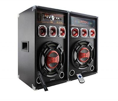 Zvučnici Intex DJ-215K FM/SD/USB/BLUETOOTH, 100W RMS