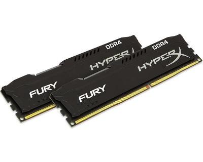 DDR4 32GB (2x16GB kit) 2933MHz Kingston HX429C17FBK2/32 HyperX Fury Black