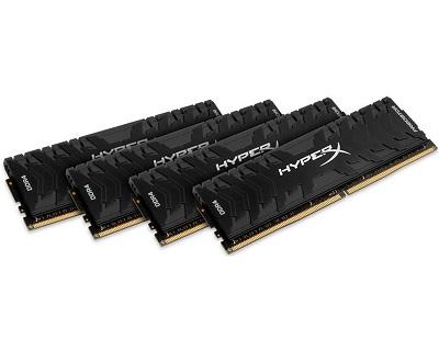 DDR4 32GB (4x8GB kit) 3333MHz Kingston HX433C16PB3K4/32 HyperX XMP Predator