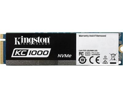 SSD KINGSTON 960GB M.2 NVMe SKC1000/960G SSDNow KC1000 series