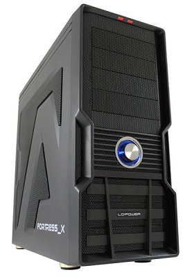Tower LC Power Gaming 973B FORTRESS_X USB3.0 BLACK