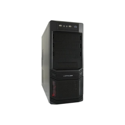 Midi Tower LC POWER  Pro-Line PRO-925B 600W-12 USB3.0 Black