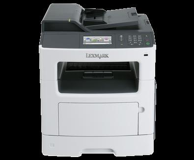 "Multifunkcijski štampač Lexmark MX417de, print/scan/copy/fax, A4, 1200dpi, 38ppm, Duplex/ADF, 4.3"" touch, USB/LAN"