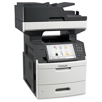 Multifunkcijski štampač Lexmark MX711de, print/scan/copy/fax, A4, 1200dpi, 66ppm, Duplex/ADF, USB/LAN