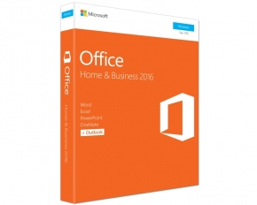 Office Home and Business 2016 32/64 ENG CEE ONLY DVD P2 FPP (T5D-02710)