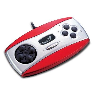 Džoj PAD Genius MiniPad USB, Red, Retail