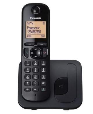 Bežični telefon PANASONIC KX-TGC210FXB crni