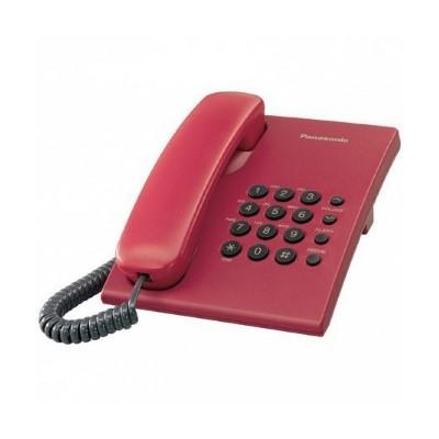 Žični telefon PANASONIC KX-TS500FXR crveni
