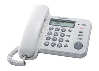 Žični telefon PANASONIC KX-TS560FXW