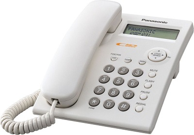 Žični telefon PANASONIC KX-TSC11FXW