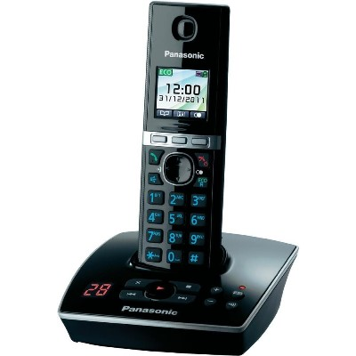 Bežični telefon PANASONIC KX-TG8061FXB crni sa sekretaricom