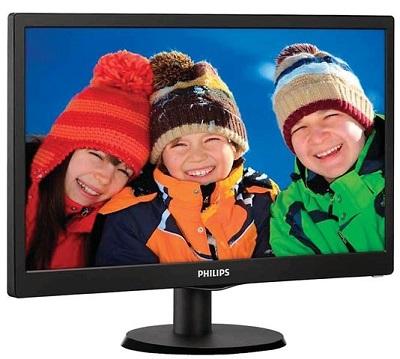 """Monitor 23.6"""" Philips 243V5LHSB/00 HDMI DVI VGA Black"""