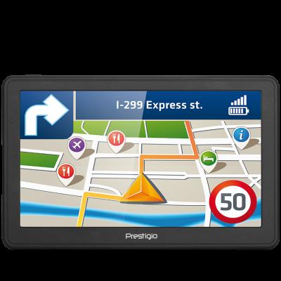 """GPS Prestigio GeoVision 7059 PGPS705900004GB00 + poklon microSD 8GB, 7.0"""", 800x480, Win CE 6.0, CPU MSTAR 2531A 800 MHz, 128 MB RAM, 4 GB internal, FM, 1500 mAh"""