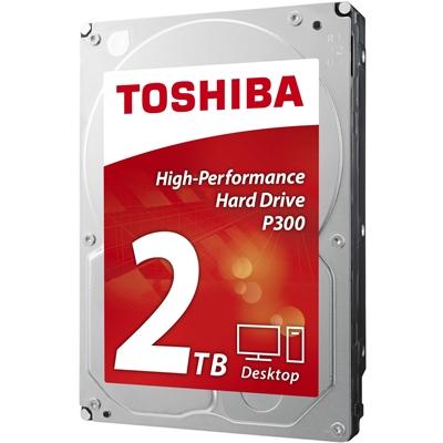 "2TB TOSHIBA 3.5"" SATA III 64MB 7.200rpm HDWD120UZSVA P300 series bulk"