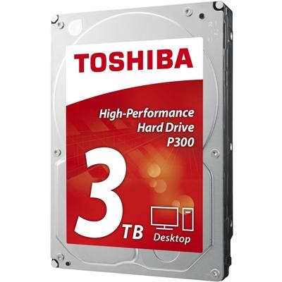 "3TB TOSHIBA 3.5"" SATA III 64MB 7.200rpm HDWD130UZSVA P300 series bulk"