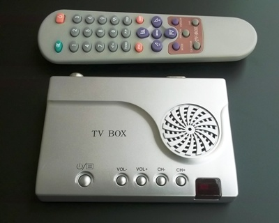 TV Tuner eksterni za CRT monitor Retail, Daljinski Upravljač, no name