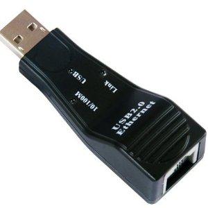 USB 2.0 TO FAST ETHERNET KONVERTOR 10/100, Viewcon, Retail