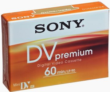 Video Kaseta SONY Mini DV Premium 60