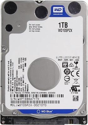 """HDD 2.5"""" WD 1TB WD10SPZX SATA3 128MB 5400rpm bulk"""