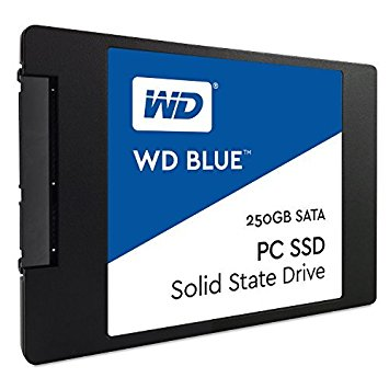 SSD Western Digital 250GB WDS250G1B0A Blue