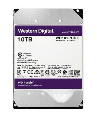 10TB Western Digital WD101PURZ Caviar Purple SATA3 256MB